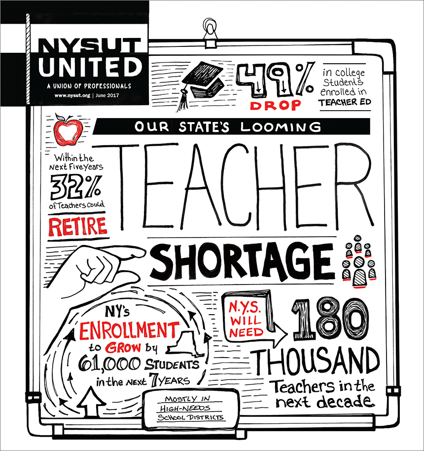 New York's Looming Teacher Shortage