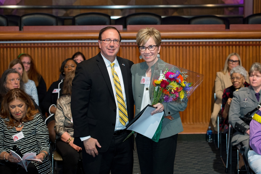President Casamento Honored as NY State Woman of Distinction