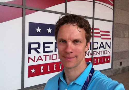 UC Professor Luke Perry Covering Both Republican, Democratic National Conventions