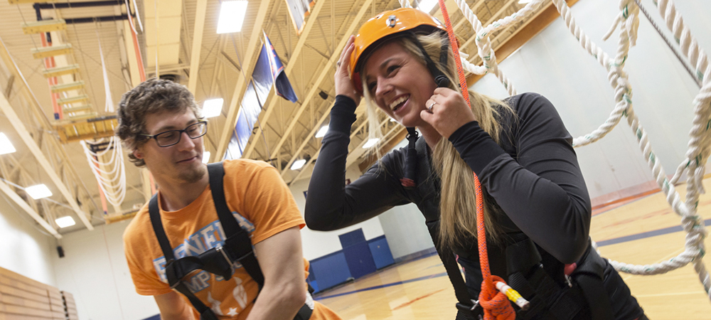 Major in Wellness and Adventure Education
