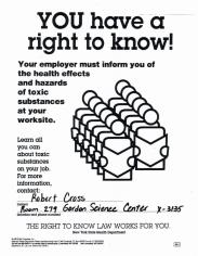 Health Effects and Hazards of Toxic Substances at Your Worksite