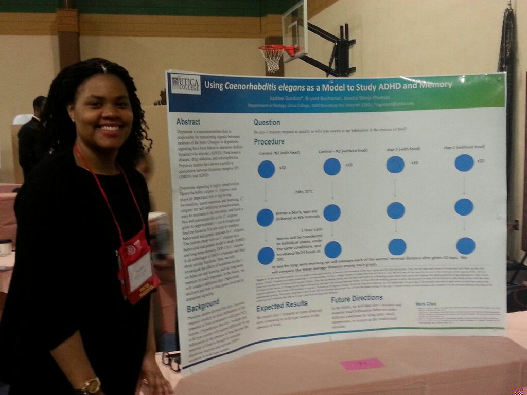 Justine Gordon Presents her poster