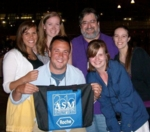 Aaronson Lab Group at ASM meetings in San Diego, 2010