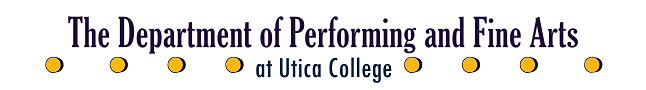 The Department of Performing and Fine Arts