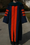 Modeling New Doctoral Degree Robe