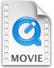 Quicktime movie file