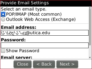Blackberry Email Address