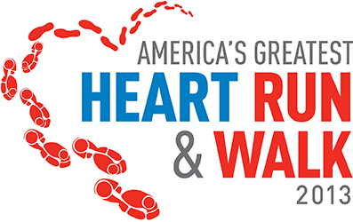 America's Greatest Heart Run and Walk 2013