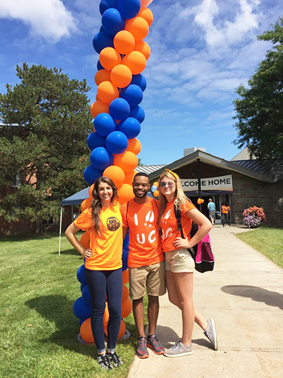 Orientation at Utica College