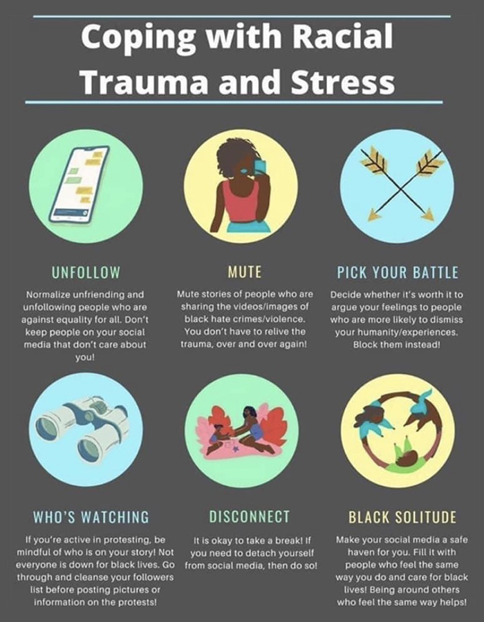 Coping with Racial Trauma and Stress