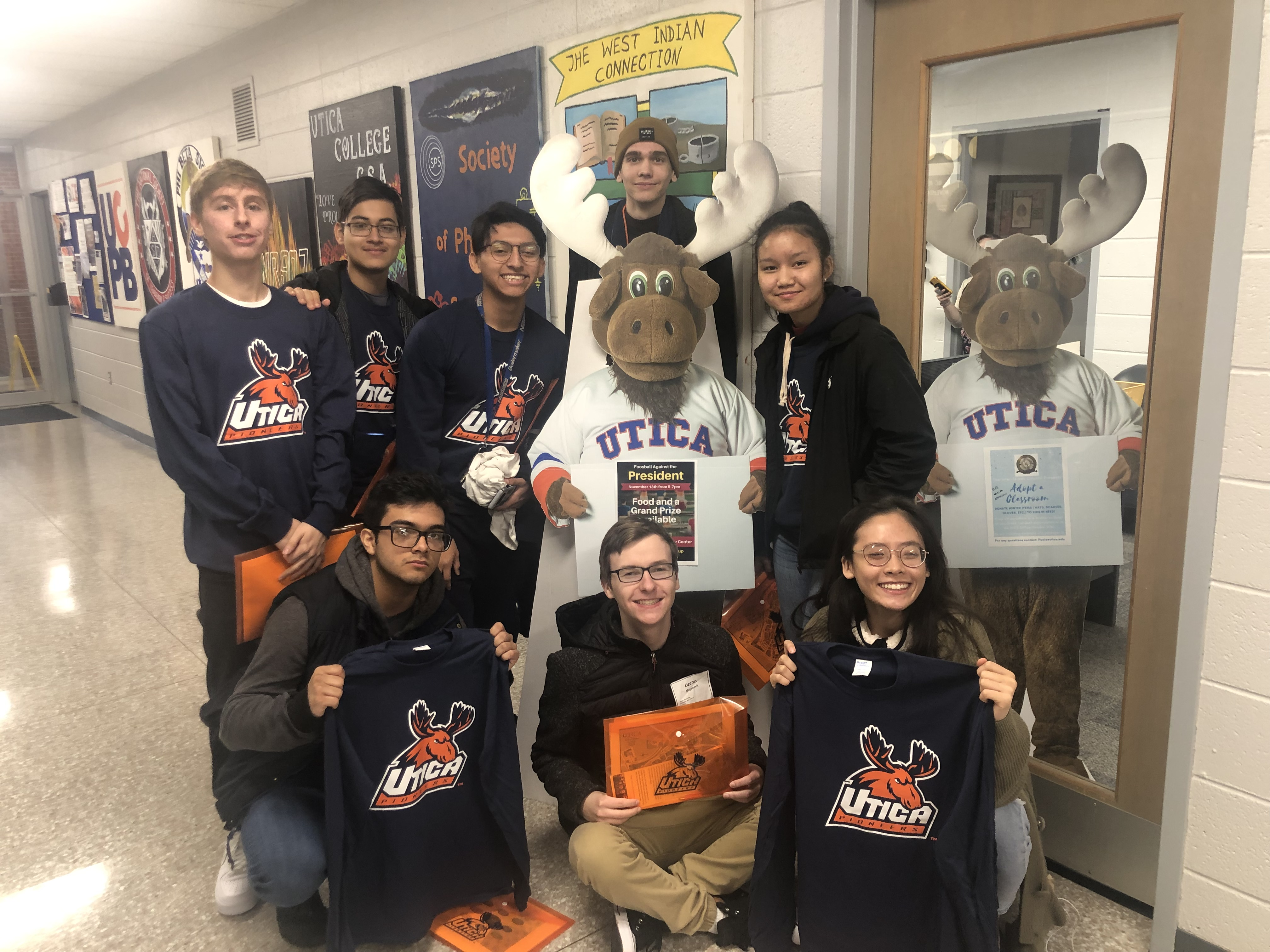 YSLPP seniors attend the Utica College Open House