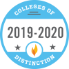 2019-2020 College of Distinction