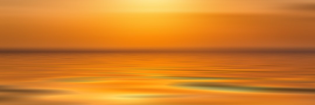 Sunset Water Generic - Philosophy Meditation Wellness
