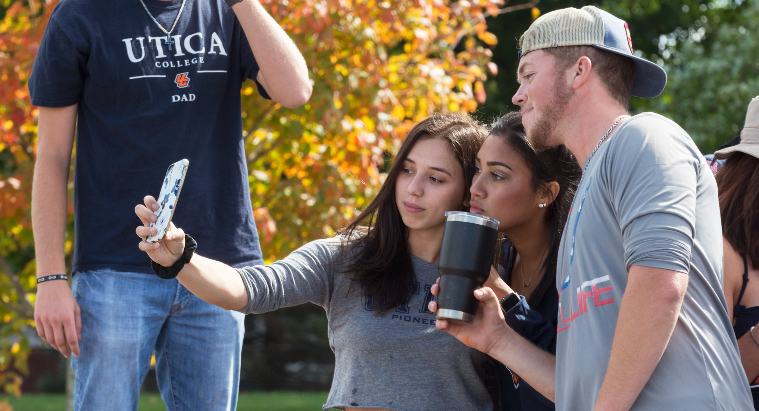 Homecoming celebration at Utica College