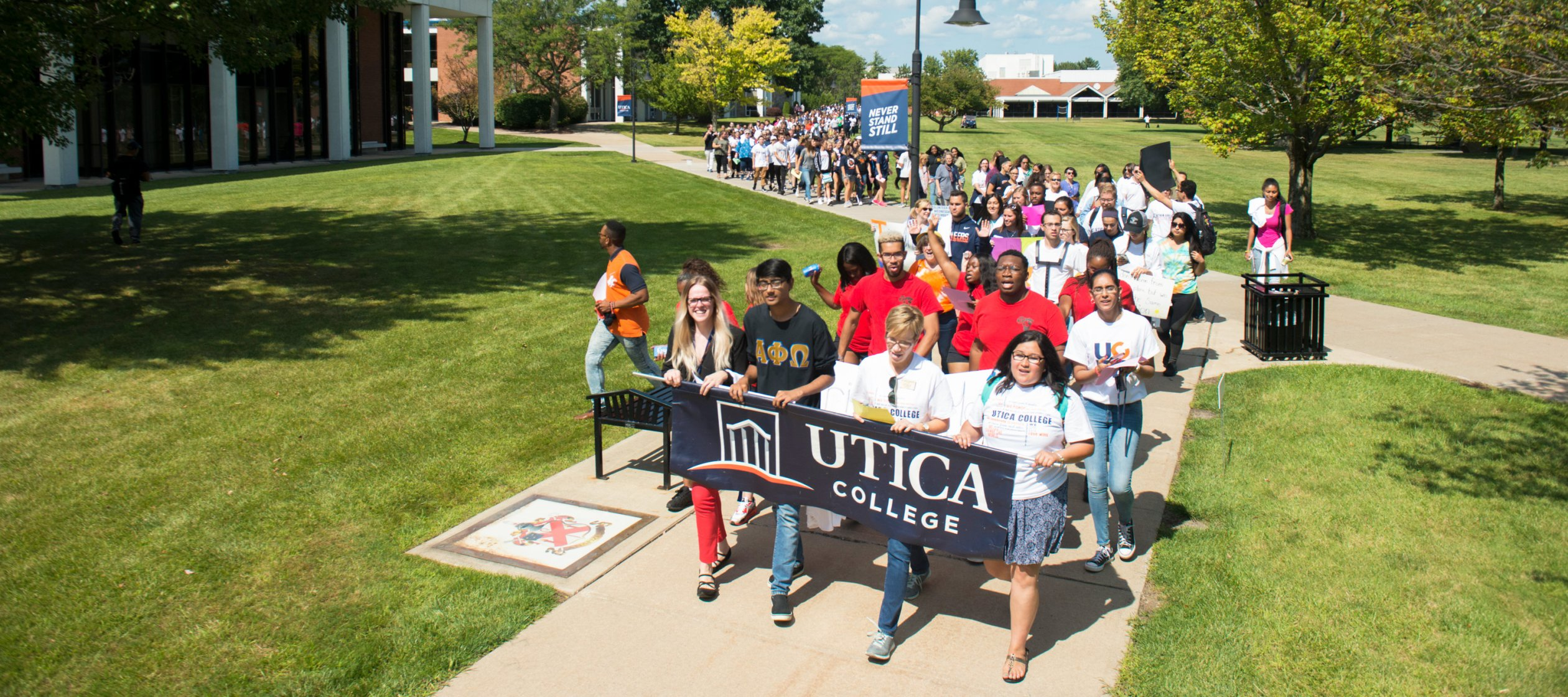 Unity Walk at Utica College