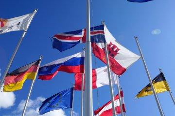 International Flags Study Abroad
