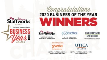 2020 Utica Chamber Business of the Year Winners