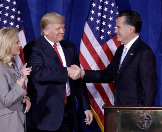 Romney and Trump AP - Luke Perry article