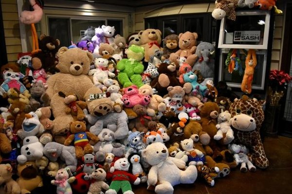 Observer Dispatch - Teddy Bear Toss