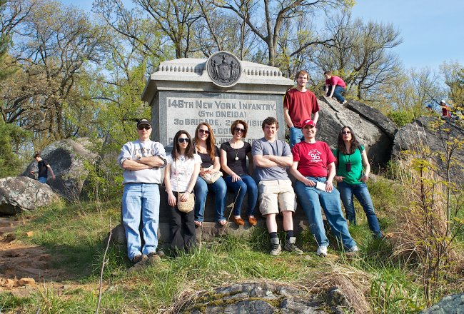 History Club Butterfield Monument