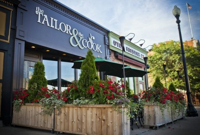 Baggs Square - Tailor and the Cook and Utica Coffee