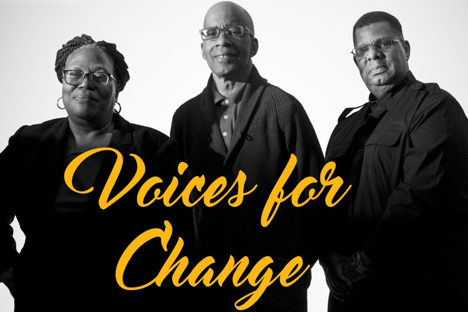 Voice of Change - Ronald Spratling 71, Janice Miles 74, Oliver Perry 74