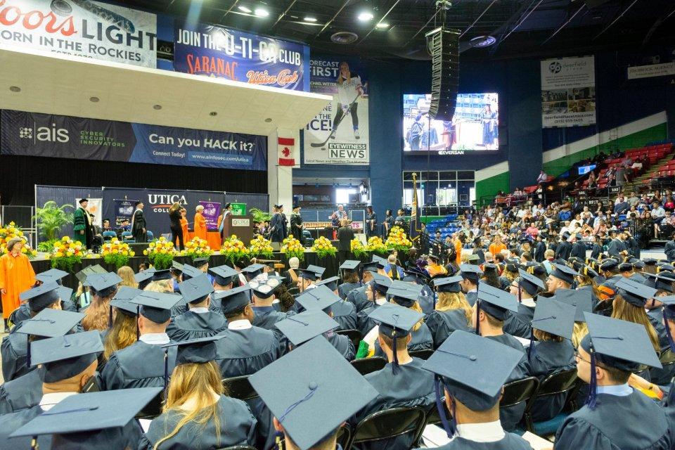 Utica College Hosts 2019 Commencement Ceremonies