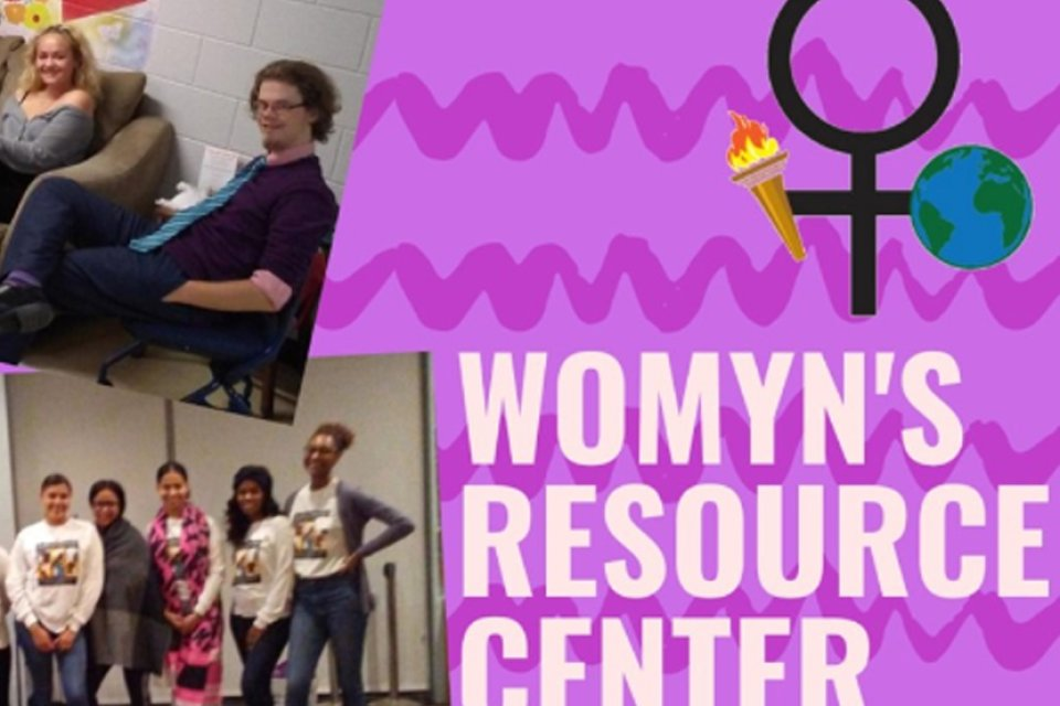 Logo for the Womyn's Resouce Center