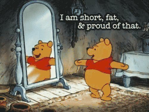 short and fat pooh
