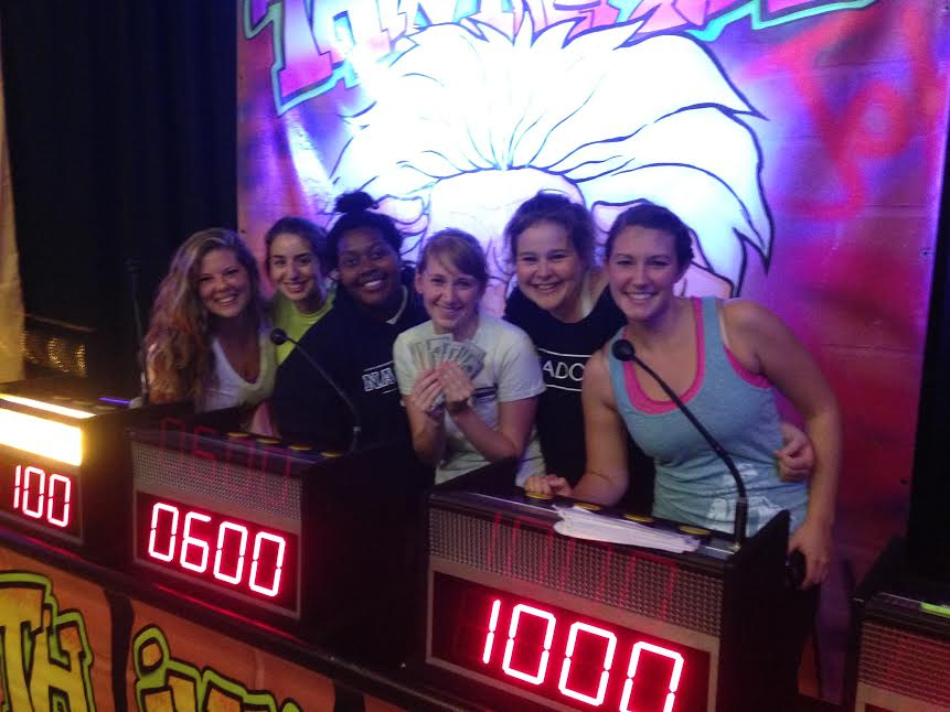 Our winning team, left to right: Me (Elaine), Mary, Keezy, Laura, MaryEllen, and Cassie