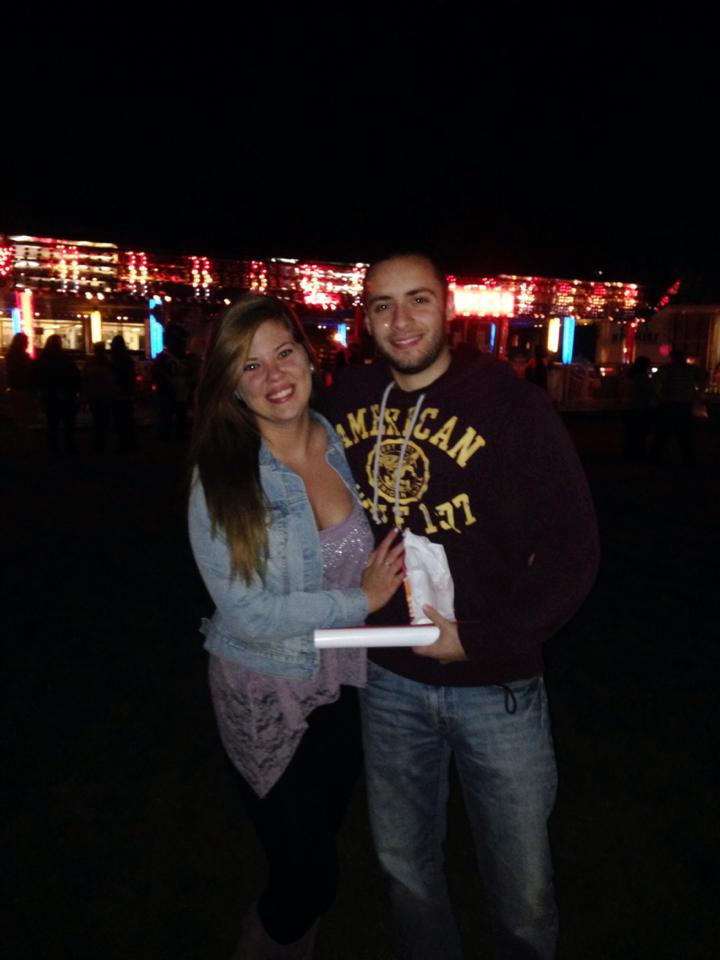 Me at Homecoming Weekend 2013, which was my junior year, with my boyfriend Ryan!