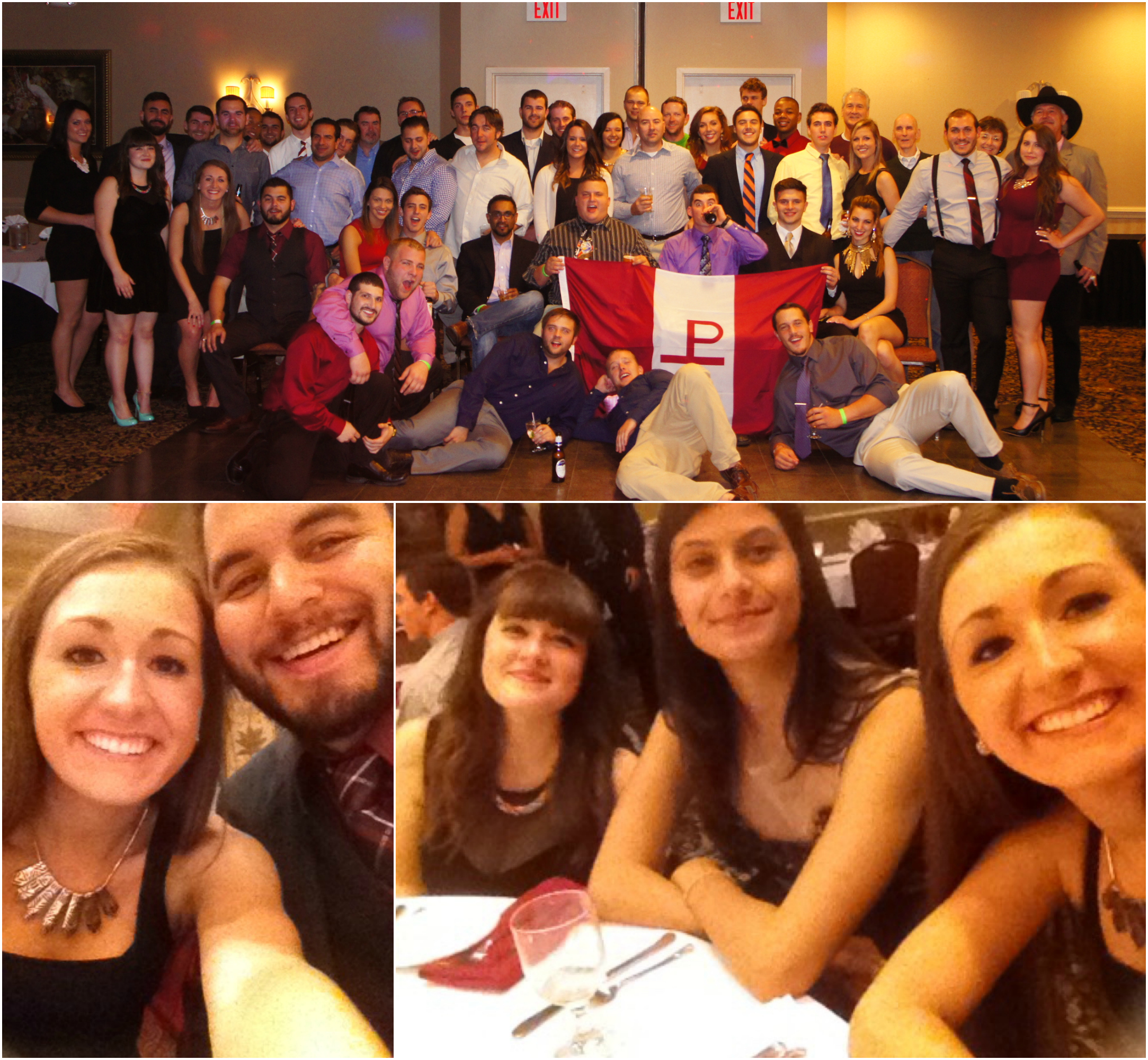 Some of the pictures from the Alpha Chi Rho formal!