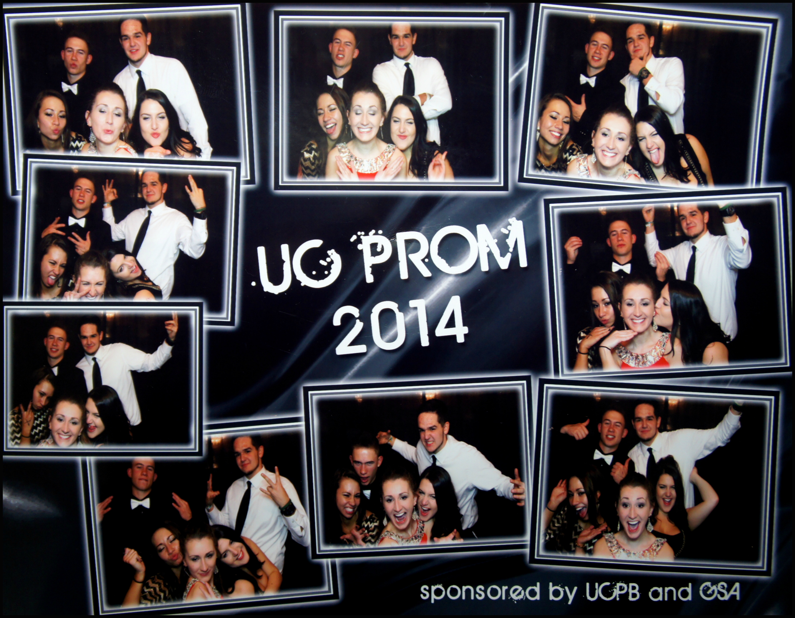 Friends & I having a blast in the photo booth! :)
