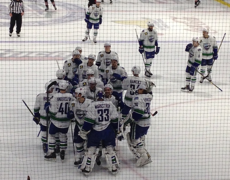 (The Utica Comets! Props to my friend Caroline for the Comets pictures! She's an avid hockey fan.)