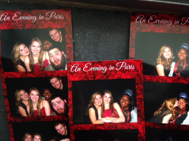 Laura, Karita, Cam, Dom, and I loved the photo booth at the Crystal Ball!