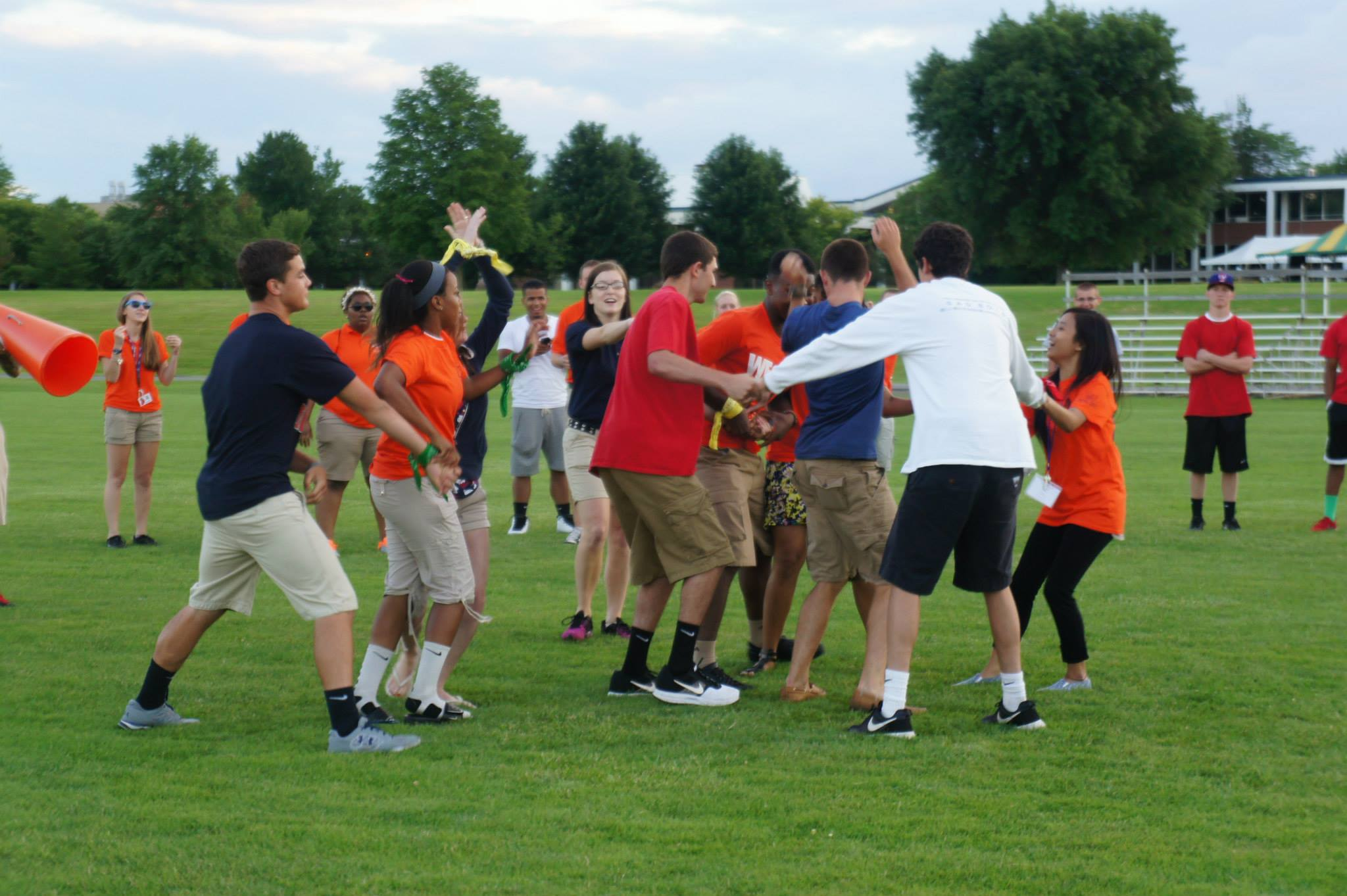 (Ice breakers are one of my favorite things about Orientation!)
