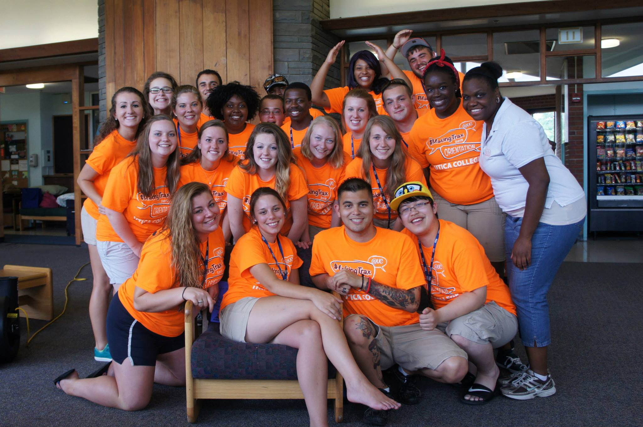 (The Orientation crew from two years ago!)