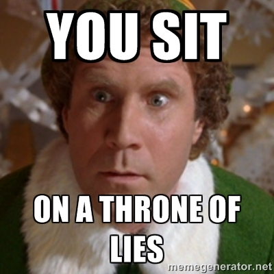 LIES finals week as told by buddy the elf student voices,Buddy Elf Memes