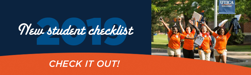 Get Ready -  Your First Year at Utica College